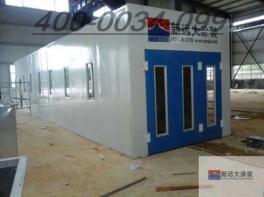 安瑞科气体机械新疆站气罐喷漆房