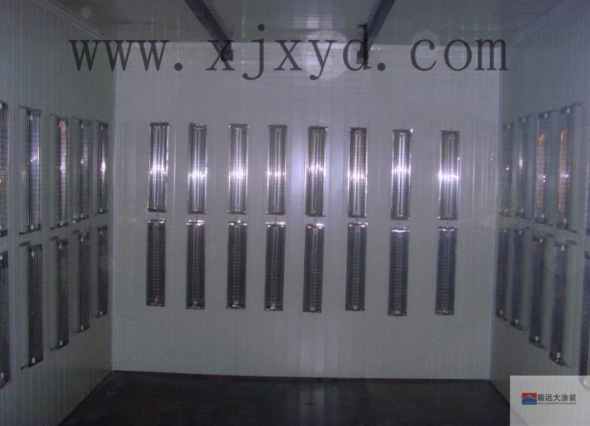 简易型电加热固化炉