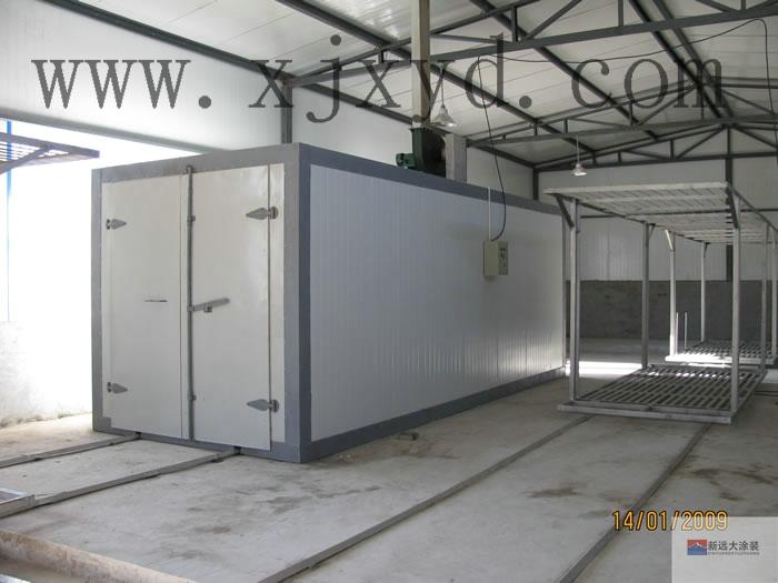 燃煤型高温固化炉